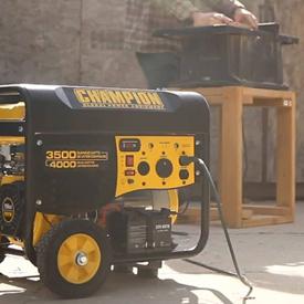 Benzininių elektros generatorių privalumai